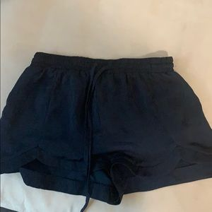 Navy lounge shorts. Never worn.